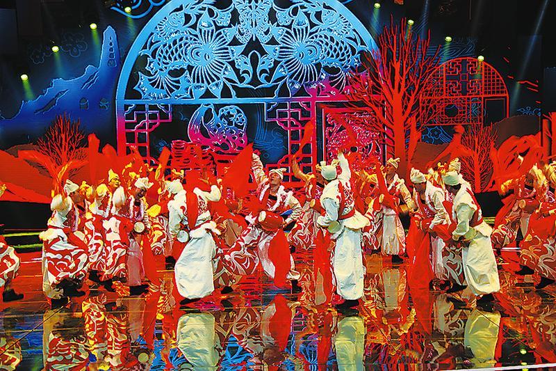 《魅力中国城》阿拉善—延安竞演激情上演